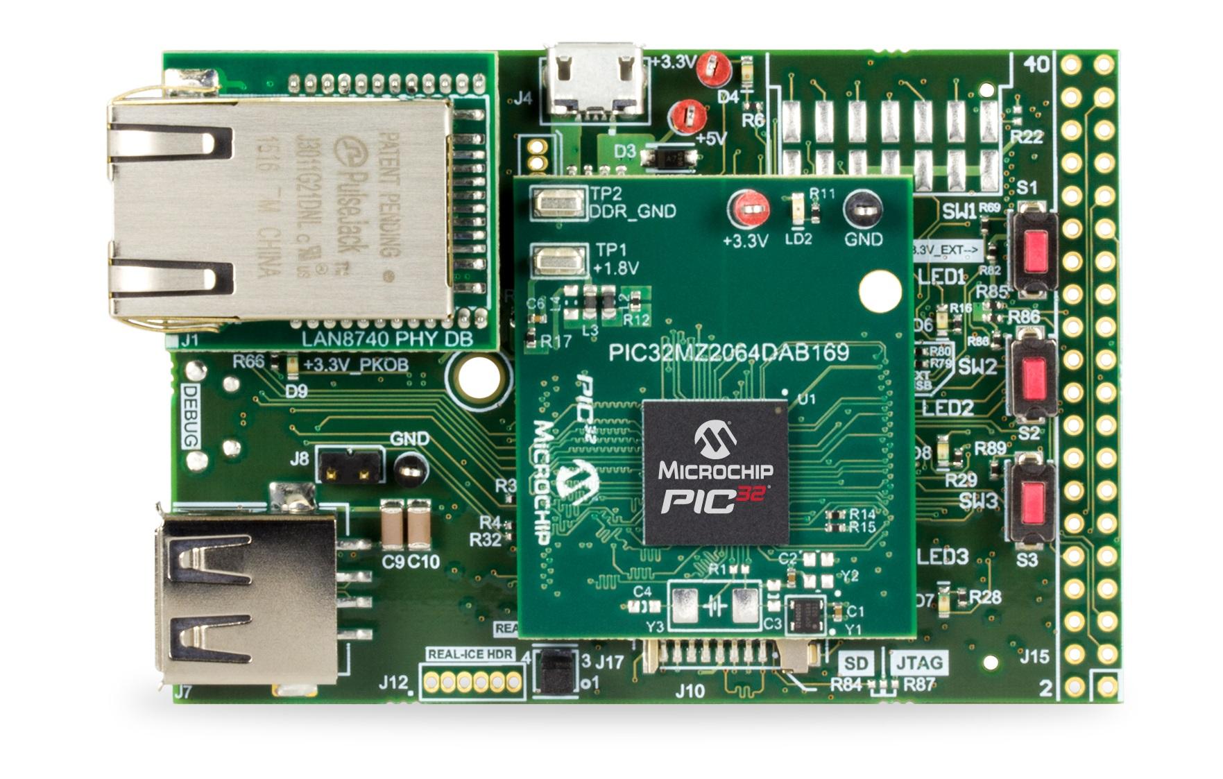 Подключение модуля ddr2 к микроконтроллеру