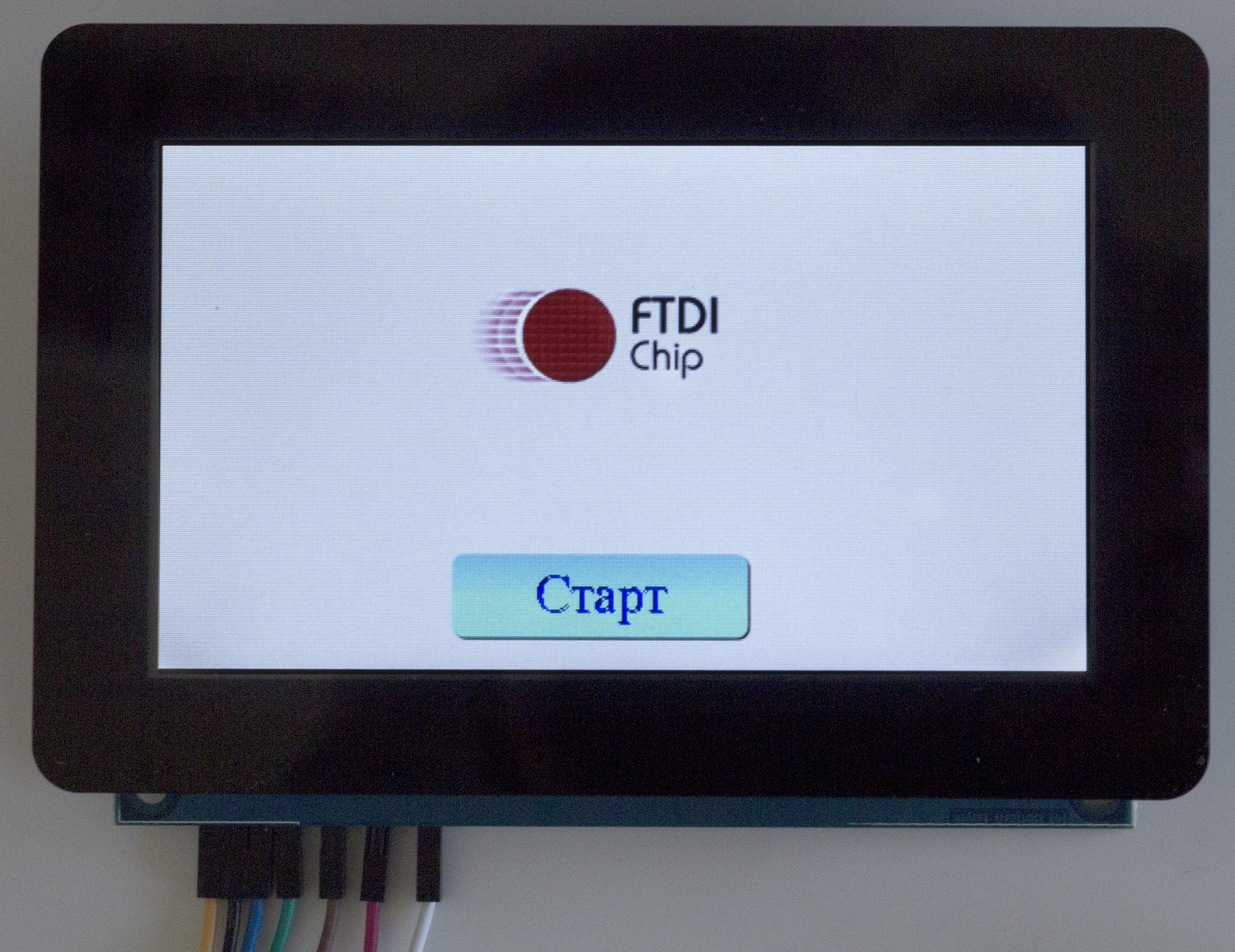 Изображение на экране дисплея  RVT43ULFNWC0x