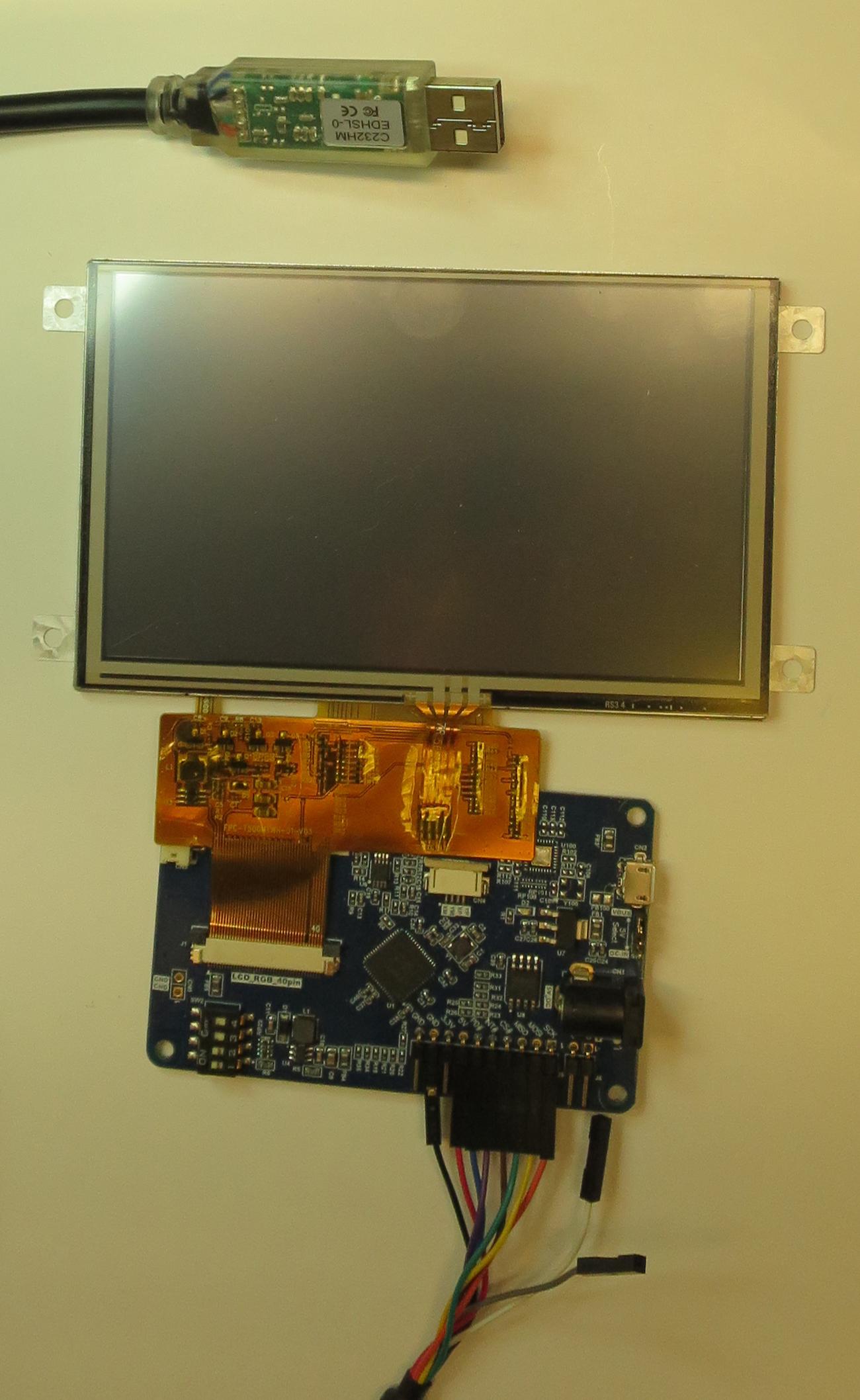 Новые графические контроллеры FTDI/Bridgetek BT81x  Работа с